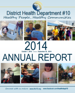 DHD#10 2014 Annual Report Cover