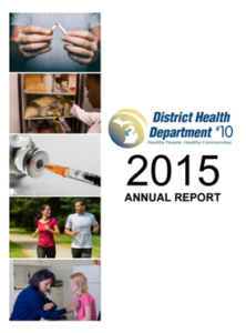 DHD#10 2015 Annual Report Cover