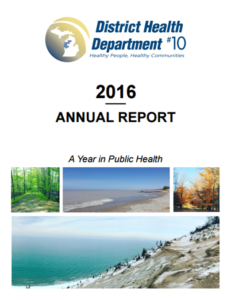 DHD#10 2016 Annual Report Cover