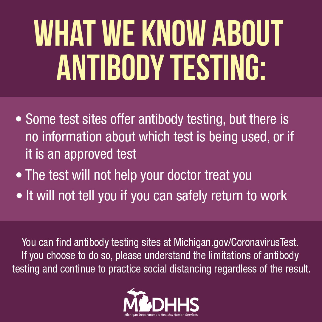 What we know about antibody testing