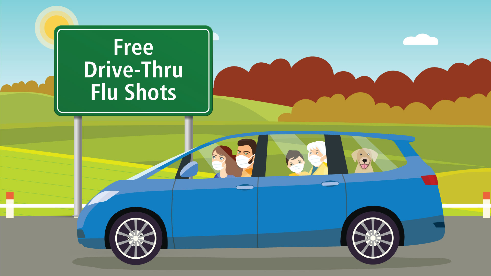 Drive-Thru Flu Clinic