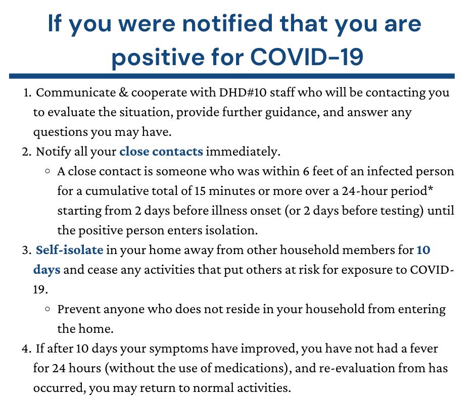 Isolation, Quarantine & Recently Tested (5)