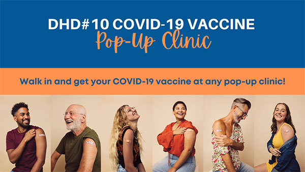 People that received their COVID vaccine